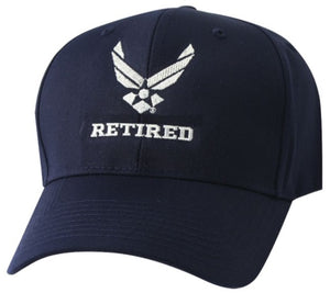 Retired Air Force new  Logo Cap