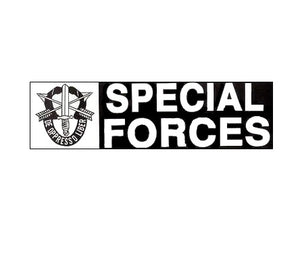 Special Forces Bumper Sticker