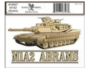 M1A2 Abrams Decal
