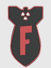 F Bomb Velcro Patch