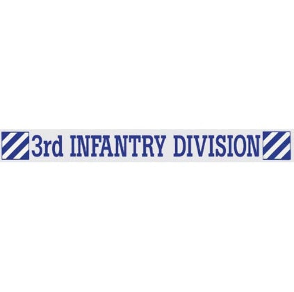 3rd Infantry Window Strip