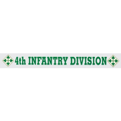 4th Infantry Div window strip