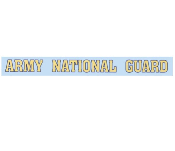 Army National Guard Window