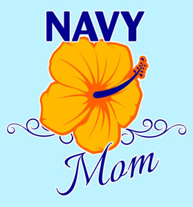Navy Mom Decal