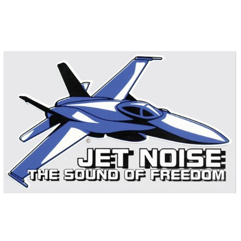 Jet Noise Sound Of Freedom Decal