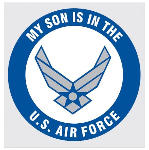 My Son in Air Force New Logo Decal
