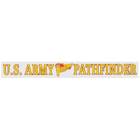 Window Strip US Army Pathfinder
