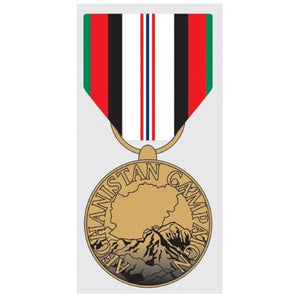 DECAL Afganistan Campaign Medal