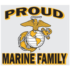Proud Marine Family Decal