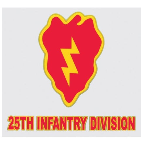 Decal 25th Infantry Division