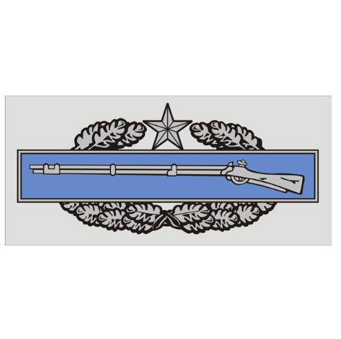 Combat Inf 2nd Award Decal