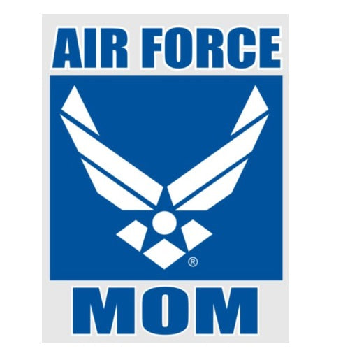 Air Force Mom w/ Logo Decal