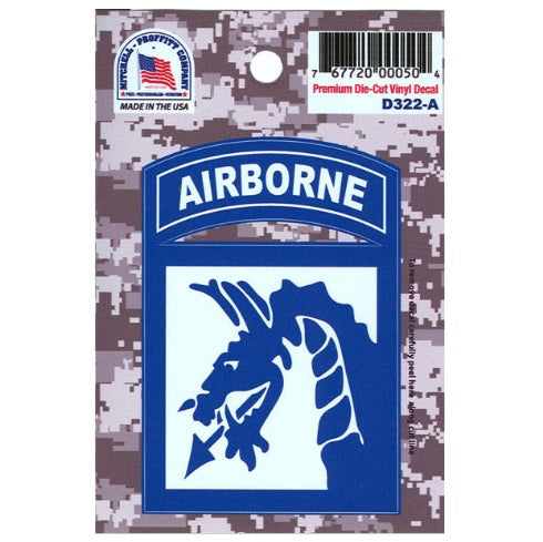 18th Airborne  ACU Decal
