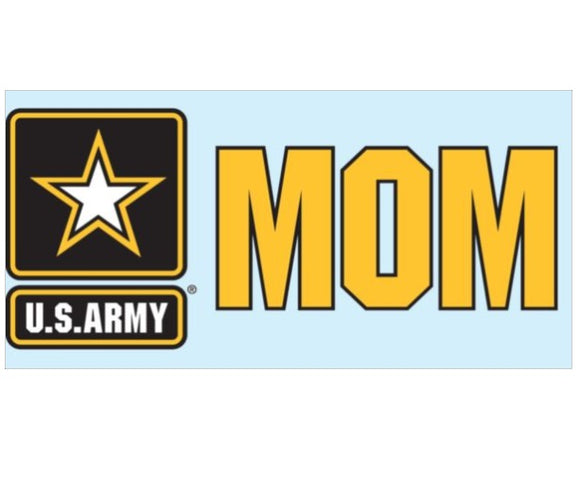 Army Star Mom Decal