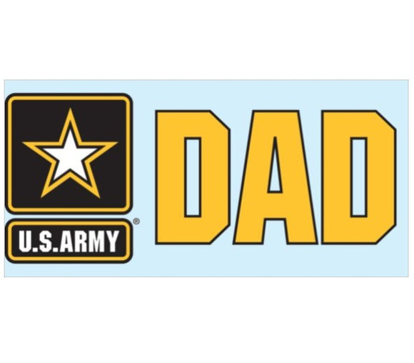 Army Star DAD Decal
