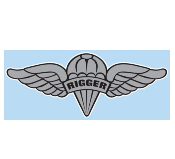 Parachute Rigger Decal