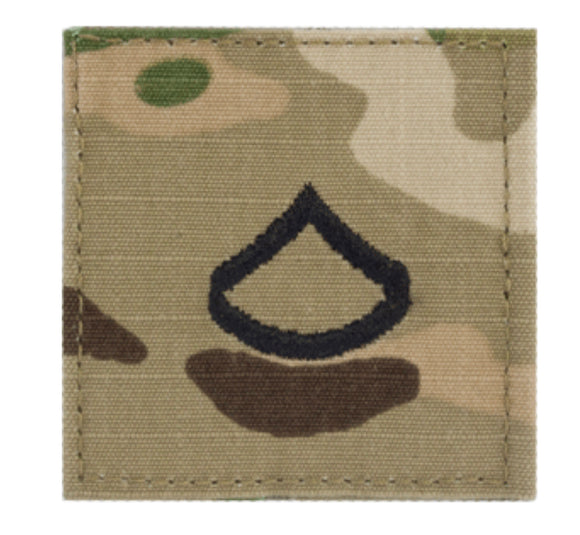 Scorpion Velcro Army Rank