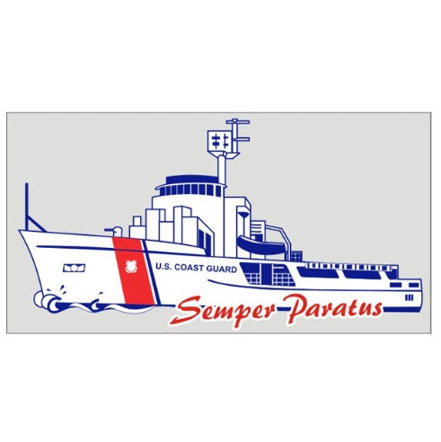 Coast Guard Cutter Boat Decal