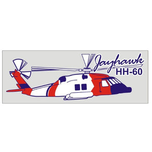Coast Guard Helicopter Decal