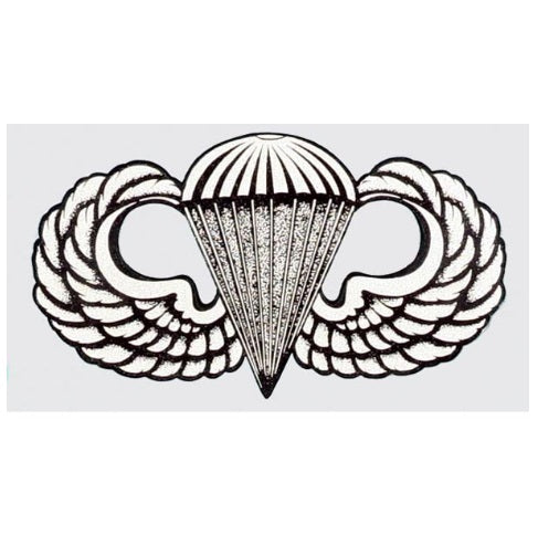 Parachutist Wings Decal