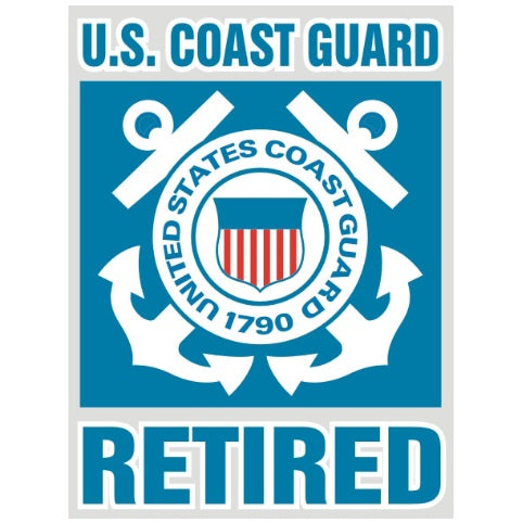 USCG Retired Decal