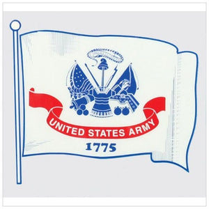Army Wavy Flag Decal