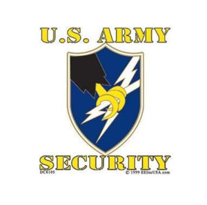 U.S. Army Security Decal