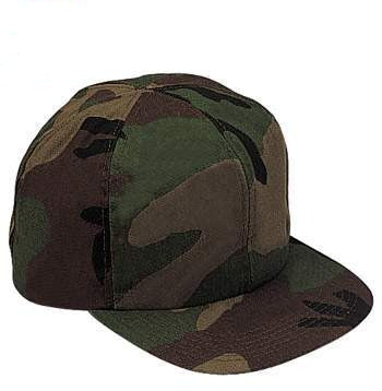 Kids Adjustable Camo Cap