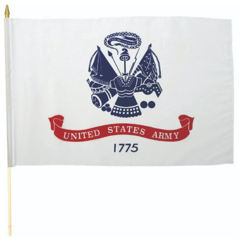 Classic Army Stick Flag 12