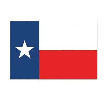 Texas Stick Flags