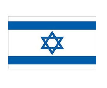 Stick Flag ISRAEL 12 x 18