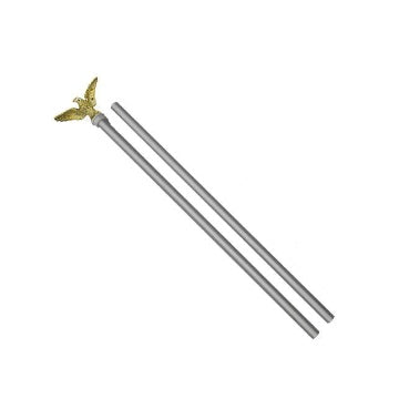 3 Pc Flag Pole Set, Aluminum