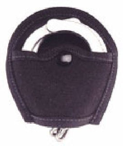 Open Top Nylon Handcuff Pouch 1 Snap