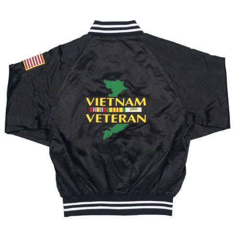 Vietnam Veteran Satin Jacket