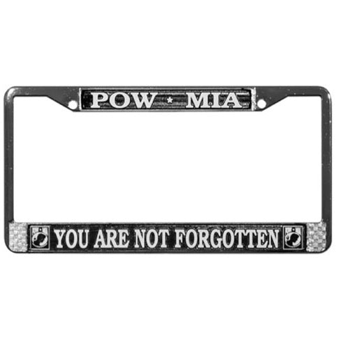 POW-MIA License Frame