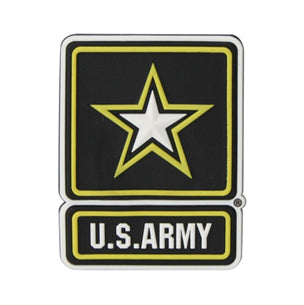 US Army Star Round Magnet