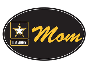 Oval Magnet Army Star Mom