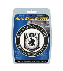 Car Grill WOUNDED WARRIOR