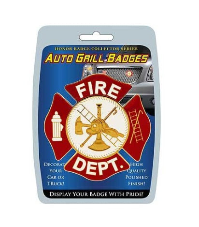 Car Grill FIRE DEPT