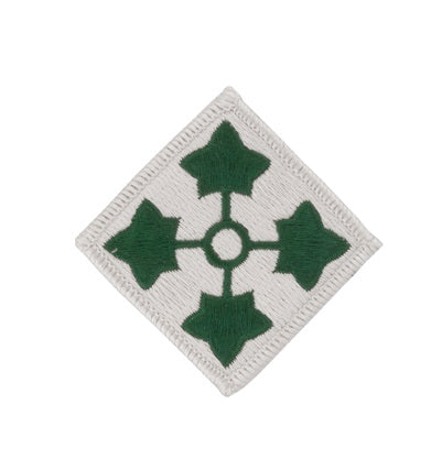 4th Infantry Division Full Color Patch