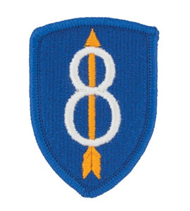 8th Army Infantry Color Patch