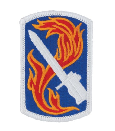 198th Infantry Brigade Full Color Patch