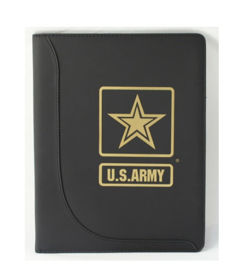 US Army Leather Padfolio