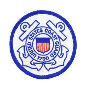 Round Coast Guard Logo Patch