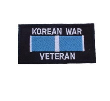 Korean War Vet w Ribbon Patch
