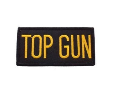 Top Gun Rectangle Patch