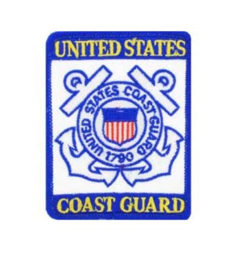 U.S. Coast Guard Logo Patch