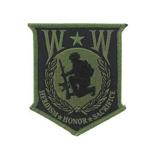 Wounded Warrior Shield Patch