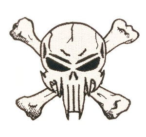 SNIPER SKULL CROSS BONES PATCH