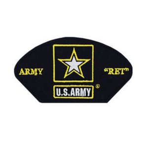 Hat Patch US Army Star Retired